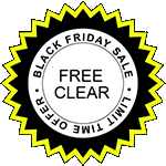 Get a Free Clear On Black Friday with Purchase of Ascent Air Purifier Sticker
