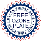 Image of a Black Friday Free Ozone Sticker