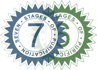 Image of the Six and Seven Stage Filtration Badge